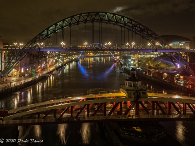 Tyne Bridges from the High Level Bridge